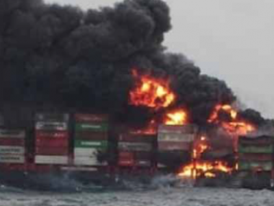Fire and Explosions on Containership off Sri Lanka - Update