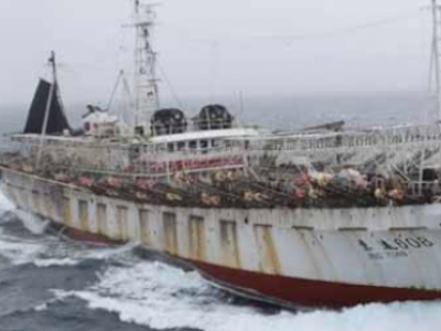 Chinese boats caught up in suspicions of illegal  fishing in Argentina's waters
