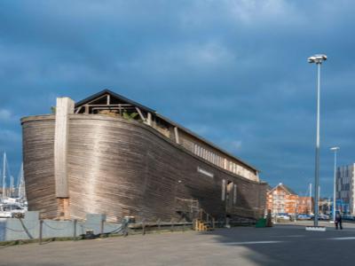 'Unseaworthy' Noah's Ark replica detained at Ipswich Waterfront