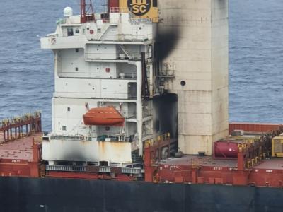 One seafarer dead after fire breaks out on MSC boxship