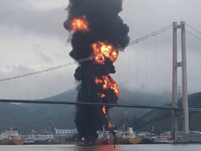 Ruptured tank caused 2019 explosion on Cayman-flagged ship