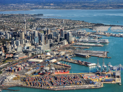 Former Auckland port boss charged over death of worker crushed by container