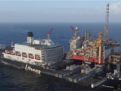 Pioneering Spirit: 5 years, 210,000 tonnes - a true game changer!