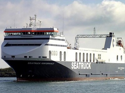 Grounding of ro-ro freight vessel Seatruck Performance - MAIB Summary