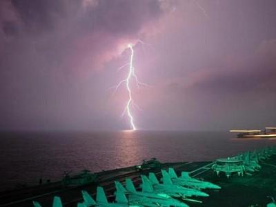 Ship exhaust helps grow bigger ocean thunderstorms