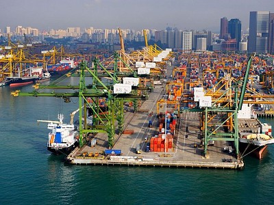 Singapore remains the world's most important shipping hub
