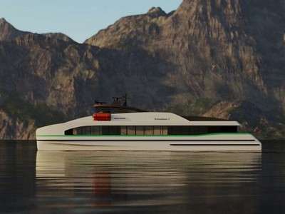 CONSTRUCTION OF WORLD'S FIRST ZERO-EMISSION FAST FERRY BEGINS