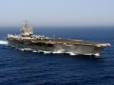 US Navy decommissions aircraft carrier USS Enterprise