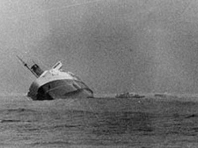 Wahine sinking 1968