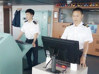 China has 1.716 million seafarers on duty, ranking  first in the world