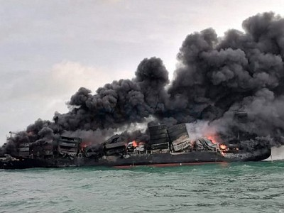 Poor packing of dangerous goods implicated in X-  Press Pearl fire