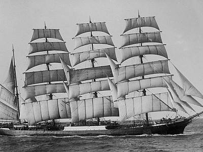 The world's last commercial ocean-going sailing ship - Pamir