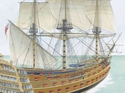 HMS Victory: Ship artefacts to remain on wreck