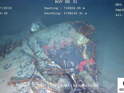 Vessel Finds French Submarine That's Been Lost for 50 Years