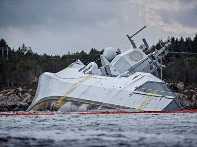 Norway Sues Consultancy for $1.6 Billion Over Sunken Frigate