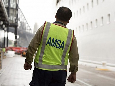 AMSA: Crew Aboard Ship at BHP Ship Terminal Have Sufficient Food