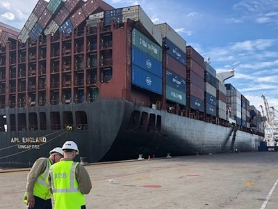 ATSB releases APL England loss of containers investigation preliminary report
