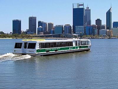 Western Australian boatbuilder Dongara Marine delivers Perth's new catamaran ferry
