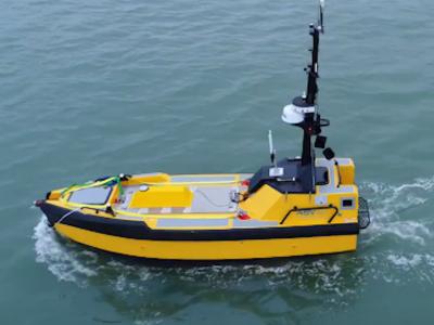 First Unmanned Vessel Joins UK Ship Register