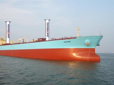 Maersk Tankers, Norsepower, ETI and Shell Collaborate To Test Wind Propulsion Technology