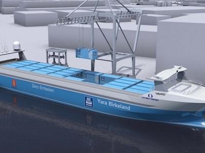 YARA selects Norwegian shipbuilder VARD for zero-emission vessel Yara Birkeland