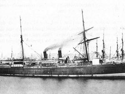 SS Centennial - Sydney 1889