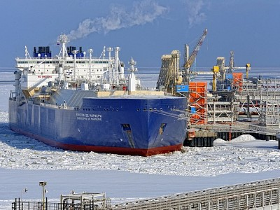 Ships moving in as Arctic sea ice level reaches record low