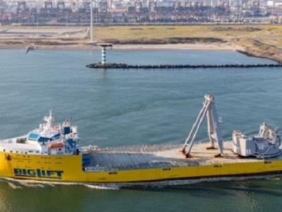 BigLift Barentsz Sails Northern Sea Route For Pioneering Spirit