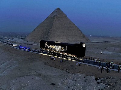 Why King Khufu's Solar Boat Is on the Move After 4,600 Years
