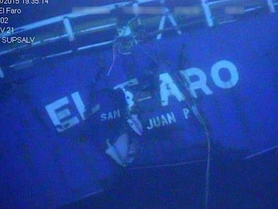 El Faro's Captain Most Responsible for the Sinking - US Coastguard