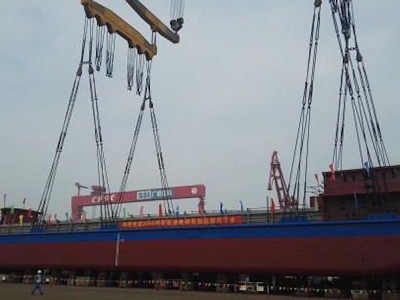 Chinese Yard Launches Battery-Powered Coal Carrier