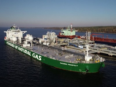 World's 1st LNG-Powered Aframax Completes Maiden Voyage