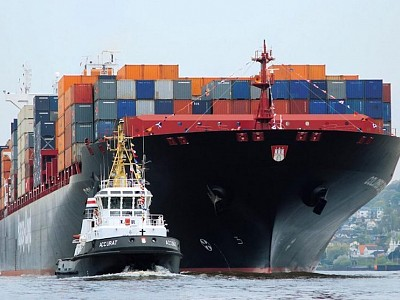 China Overtakes Germany as Biggest Containership Nation