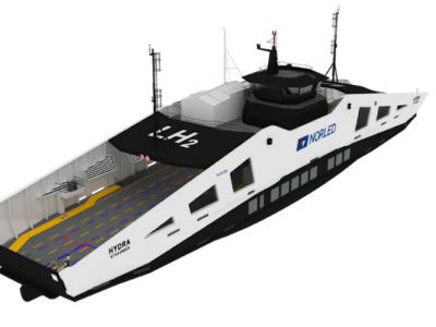 World's 1st hydrogen-powered ferry delivered
