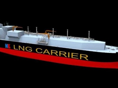 Record-Breaking 270,000 cbm LNG Carrier In The Making