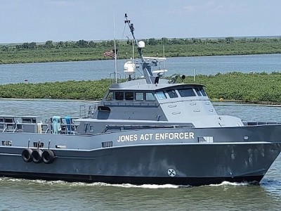 Offshore Marine Service Association Launches Vessel to Document Jones Act Violations