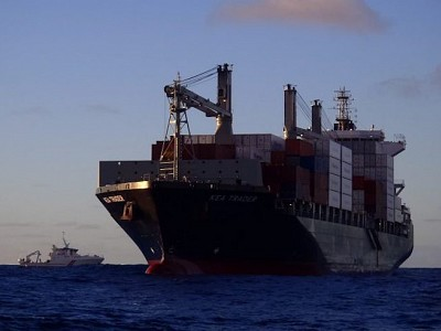 Damage of Grounded Kea Trader Yet to Be Determined