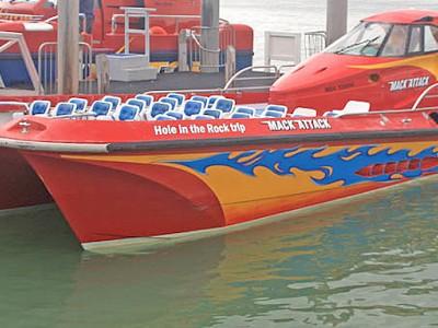 Passenger's back broken on NZ high speed tourist vessel