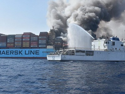 Containership fires: it is time to take action, says IUMI