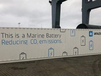 Maersk to Pilot Battery System on 4,500 TEU Boxship