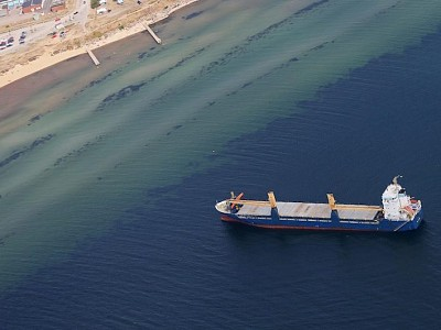 Another vessel runs aground off Sweden