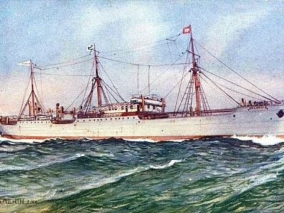 Selandia: The First Motor Ship in the World
