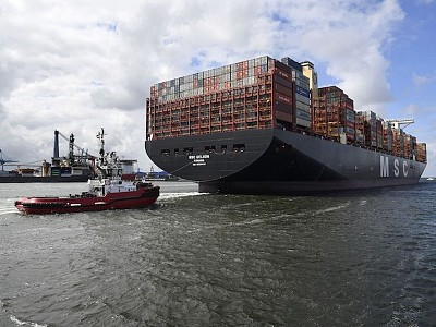 MacGregor designs innovative cargo system for the world's largest containership, MSC Gülsün