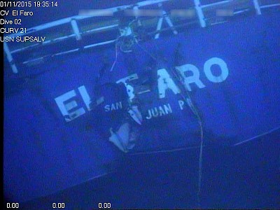 NTSB to Open Docket for El Faro Sinking Investigation
