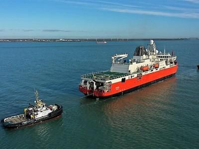 RSV NUYINA EMBARKS ON SEA TRIALS