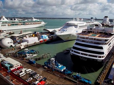 Ports of Auckland Eyes Shore-Based Power for Cruise Ships
