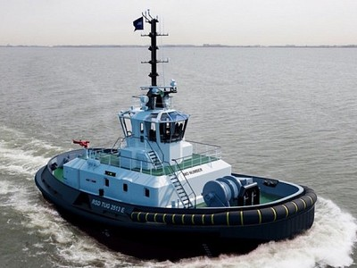 World's first e-tug named Sparky
