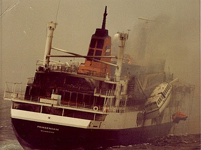 Flashback in history: MS Prinsendam fire and sinking 4 October 1980