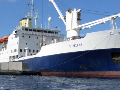 RMS St Helena Withdrawing from Service