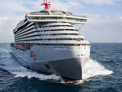 Fincantieri Delivers Virgin Voyages' First Cruise Ship, Scarlet Lady